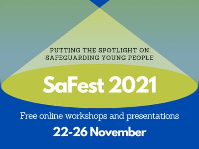 a poster for SaFest 2021